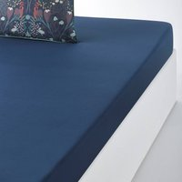 Lazarine Cotton Percale Fitted Sheet