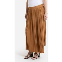 shop for Pleated Maternity Maxi Skirt at Shopo