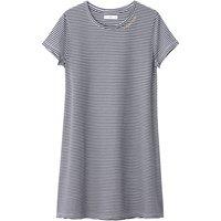 Striped T-Shirt Dress, 10-16 Years