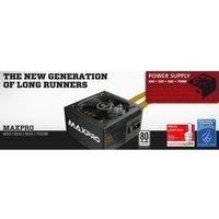 Alimentation PC Enermax MAXPRO 400W noir, PCIe 2x 400 Watt 15,2 à 19,8 dB (A) active PFC
