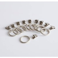 Set of 10 Loch Curtain Clips