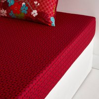 Red Miss China Fitted Sheet