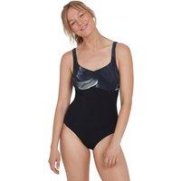 ContourLustre Printed Shaping Swimsuit