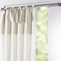 Osmain Pure Cotton Tie Top Single Voile Panel