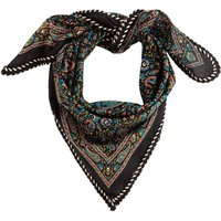 Recycled Cotton Scarf in Floral Print