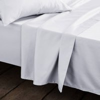 Cotton Satin Flat Sheet