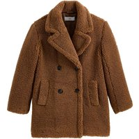 Bouclé Teddy Faux Fur Coat