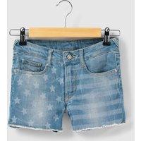 Cotton Denim Shorts, 8 - 16 Years
