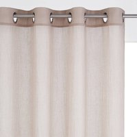 Atbir Single Sheer Crinkle Voile Panel with Eyelets