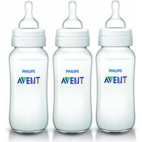 'Avent Classic Scf566/37 330 Ml Bpa-free Feeding Bottles