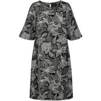 shop for Floral Print Shift Dress with Short Sleeves at Shopo