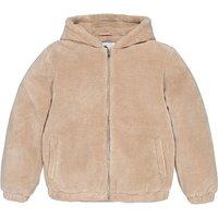 Faux Fur Hooded Jacket, 10-18 Years