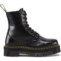 Jadon Leather Chunky Ankle Boots with Lace-Up Fastening