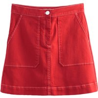 shop for Double Patch Pocket Mini Skirt at Shopo