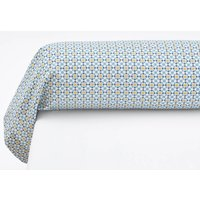 Teyben Floral Cotton Percale Bolster Case