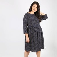 Printed Babydoll Dress