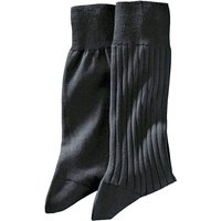 Pack of 2 Pairs of Men's Cotton Lisle Socks