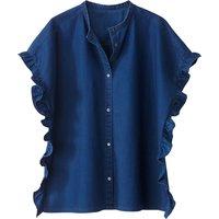 Cotton Ruffled Shirt