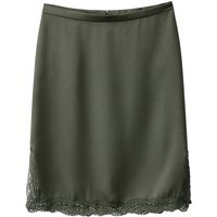 Pencil Skirt with Lace Hem