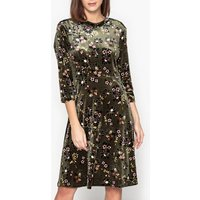 Rondy Printed Mid-Length Shift Dress