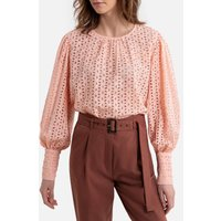 shop for Broderie Anglaise Blouse with Long Sleeves at Shopo