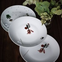 Sam Baron Plates (Set of 4)