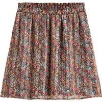 shop for Floral Print Mini Skirt at Shopo