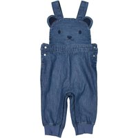 Bear Patterned Dungarees, Birth-2 Years