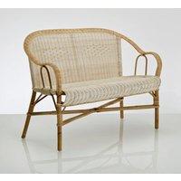 Grandfather KOK-Style Natural Rattan Garden Sofa