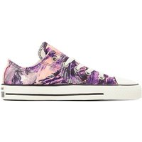 Sneackers marine/rosa donna Baskets CTAS OX FEATHER PRINT CANVAS