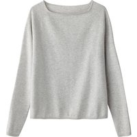 Boat Neck Fine Gauge Knit Jumper