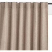 Taima Linen/Cotton Concealed Tab Curtain.