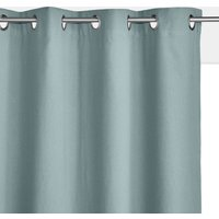 Taima Linen/Cotton Single Blackout Lined Curtain with Eyelets