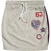 Mini Skirt with Badges