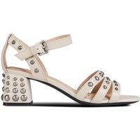 D Seyla Mid Leather Sandals