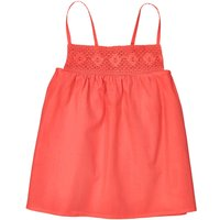 Square Neck Vest Top with Shoestring Straps, 3-12 Years