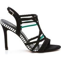 Kielle Leather Stiletto Heel Sandals