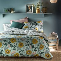 Marthe Duvet Cover in Cotton Percale