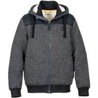 Sherpa Lined Hooded Fleece Jacket