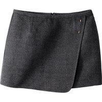 Short Cotton Mix Skirt