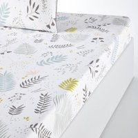 Suzanne Fitted Sheet in Cotton Percale