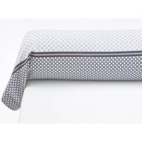 Nayma Geometric Cotton Bolster Case