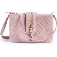 Quilted Suede Handbag