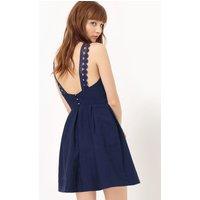 Short Sleeveless Plain Dress