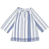 Long-Sleeved Striped Blouse, 3-12 Years