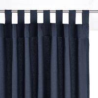 Scenario Cotton Tab Top Single Curtain