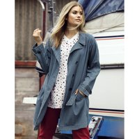Pure Cotton Denim Trench Coat