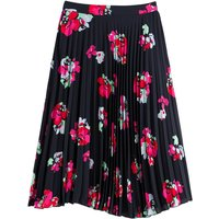 shop for Pleated Midi Skirt in Floral Print at Shopo
