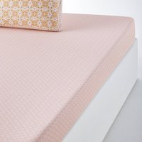 Gardenia Fitted Sheet in Pure Cotton