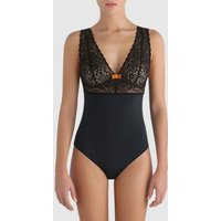 Bodyshaper with Lacy Top